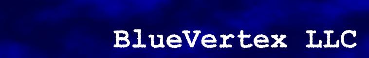 BlueVertex LLC Masthead Logo